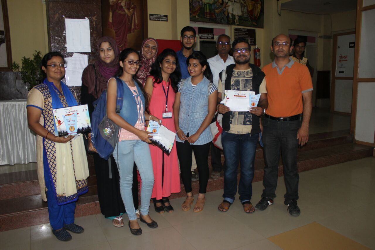 College Performance in Rotary Club annual competition