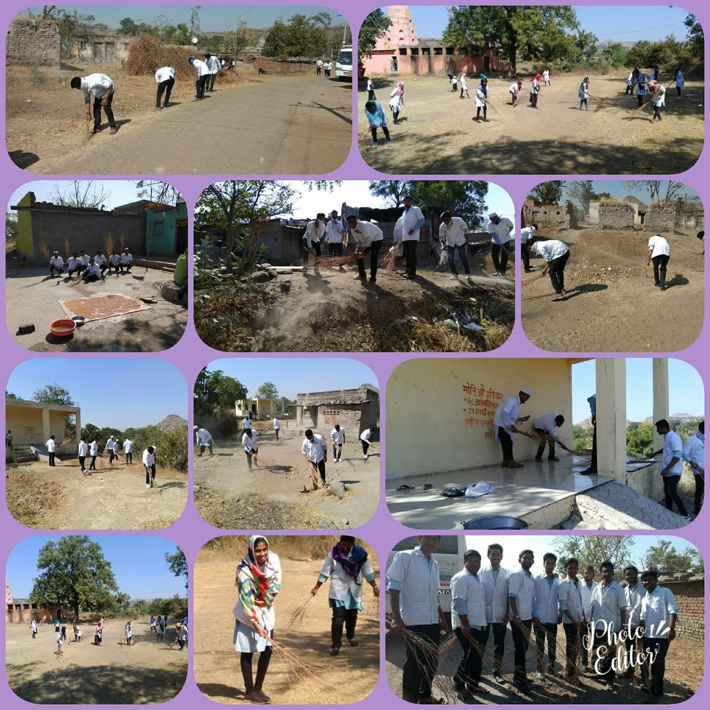 Cleanliness Drive at Dhopteshwar